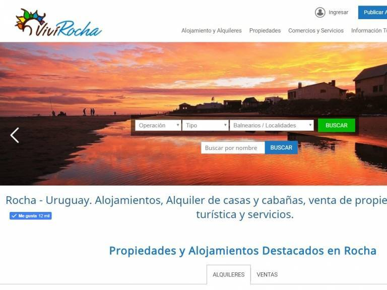 Touristic guide of Rocha