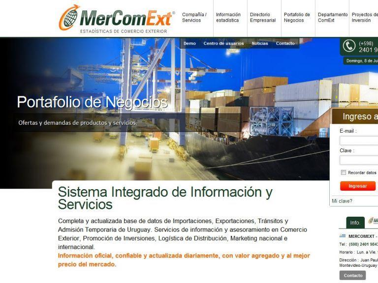 Comercio Exterior e información estadística de aduanas. Importaciones y Exportaciones. - Mercomext Comercio exterior